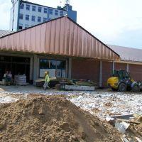 Kutno - budowa supermarketu na Grunwaldzkiej, Кутно