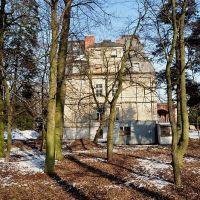Pałac XVIII/XIX w. Malina Kutno /zk, Кутно