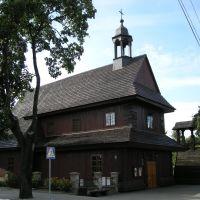 ŁASK. Kościół św. Ducha., Ласк