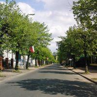 Łask ul. 9 Maja, Ласк