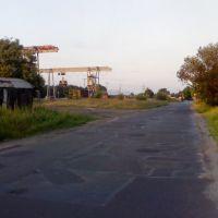Łask ul. Kolejowa, Ласк