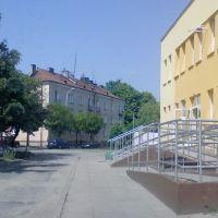 Łask ul. Polna, Ласк