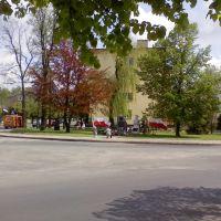 Łask - Plac Józefa Piłsudskiego, Ласк