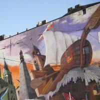 Łódź - Graffiti - malby, Лодзь