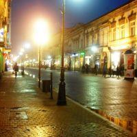 Big City lights :)   Piotrkowska by night., Лодзь