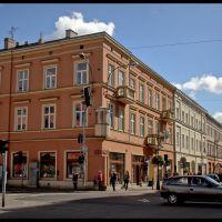 Łódź - Budka milicjanta - malby, Лодзь