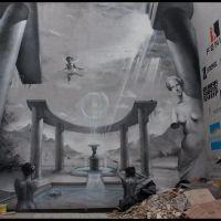 Łódź - Mural - malby, Лодзь