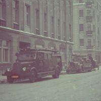 ŁÓDŹ - Ulica Jaracza 11 / W okresie okupacji Moltkestrasse - 1942 Zarząd Getta Łódzkiego - Siedziba biura Hansa Biebowa, Лодзь