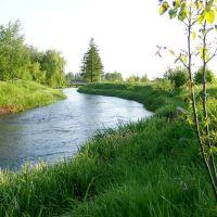 Rzeka Drzewiczka w Opocznie, Опочно