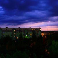 panorama z okna przy ulicy westerplatte, Опочно