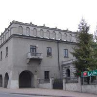 Przebudowany zamek z XIV wieku w Opocznie, Опочно