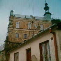 Kościół Św. Bartłomieja od ul. Wąskiej, Опочно