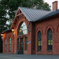 Railway station/Dworzec kolejowy w Pabianicach, Пабьянице