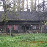 ul.Narutowicza : ostatni Mohikanie dawnej drewnianej zabudowy, Пабьянице