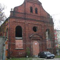 ul.L.Waryńskiego -dawny kościół Mariawitów, Пабьянице