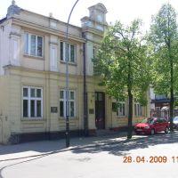 """ul.Kościuszki - pabianicka """"Zachęta"""", Пабьянице"""