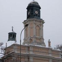 Kościół ewangelicki 1827-31 Pabianice /zk, Пабьянице