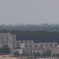 Bloki w Radomsku widziane z Jasnej Góry, Радомско