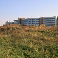Nowy, ciągle prawie gotowy szpital w Radomsku, Радомско