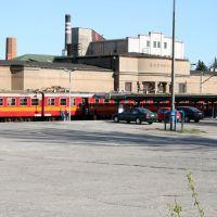 Przystanek kolejowy w Radomsku, Радомско