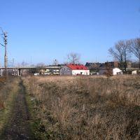 Scieżka obok toru kolejowego, Радомско