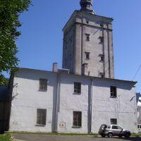 Wieża bramna, widok od strony zachodniej, Биала Подласка