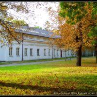 Oficyna Zachodnia w Parku Radziwiłłowskim jesienią, Биала Подласка