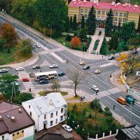 Skrzyżowanie Artyleryjskiej z Piłsudzkiego, Биала Подласка