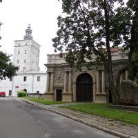 Brama wjazdowa i wieża bramna założenia pałacowego Radziwiłłów, Биала Подласка