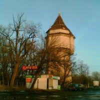 Wieża przy dworcu PKP w Białej Podlasce