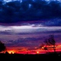 grudniowy zachód słońca, Замосц