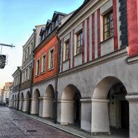 Zamość, w pobliżu Rynku Wielkiego, Замосц