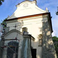 Barokowy kościół Świętego Ducha 1758-61 Kraśnik /zk, Красник
