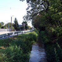 Kraśnik - rzeka Wyżnica przy ul Jagielońskiej, Красник