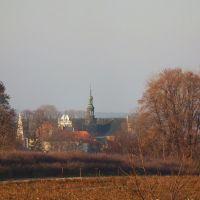 Widok na kościół, Красник