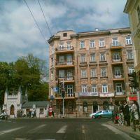 Skrzyżowanie ulic Lipowej i Krakowskiego Przedmieścia w centrum Lublina, Люблин