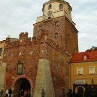 Lublin, Brama Krakówska - Krakow Gate, Люблин