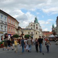 Lublino - Krakowskie Przedmiescie la strada più importante, Люблин