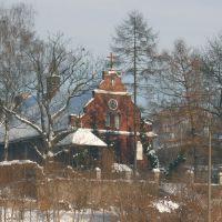 Zimowa odsłona kościoła Mariawitów, Люблин