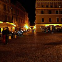 Lublin nocą / Lublin at night, Люблин