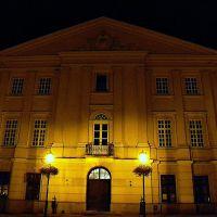 Lublin nocą (Poland), Stare Miasto, Trybunał Koronny (dzisiejszy Urząd Stanu Cywilnego), Люблин