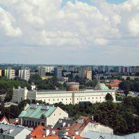Lublin (Polska) Zamek Lubelski - widok z Wieży Trinitarskiej / Lublin (Poland) Lublin Castle - view from Trinity Tower, Люблин