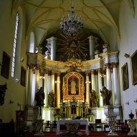 Kościół Nawrócenia św. Pawła w Lublinie - wnętrze / St Pauls Church. Paul in Lublin - interior, Люблин