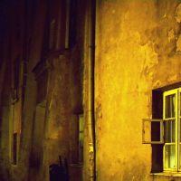Lublin - ulica Dominikańska nocą., Люблин