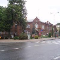 Old building in Pulawy - starostwo powiatowe, Пулавы