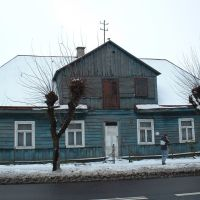 Tomaszow, old house, Томашов Любельски