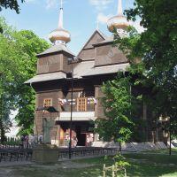 kościół modrzewiowy z 1627/1727 r. w Tomaszowie Lubelskim, Томашов Любельски