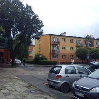 parking  w centrum, Томашов Любельски
