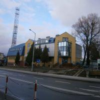 Tomaszów Lubelski - budynek telekomunikacji, Томашов Любельски