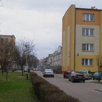 bloki na dawnej dzielnicy żydowskiej, Томашов Любельски